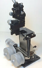 SOMA MX3000L HIGH-PRECISION HUXLEY-STYLE MANUAL MICROMANIPULATOR for PATCH CLAMP