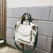 Messenger Bags Women's Crossbody Bag Large Capacity Girl Tote Street Canvas YW