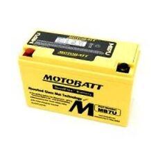 New MotoBatt MB7U Quadflex Sealed AGM YT7BBS Motorcycle Replacement Battery