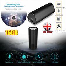 16gb Mini Sound Voice Recorder Spy Digital Audio Activated Dictaphone Mp3 UK