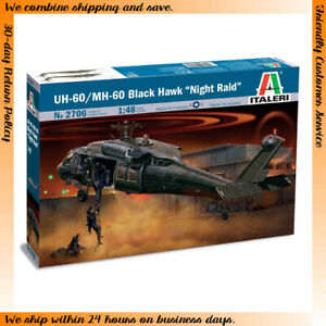 Italeri 1/48 UH-60 / MH-60 BLACK HAWK