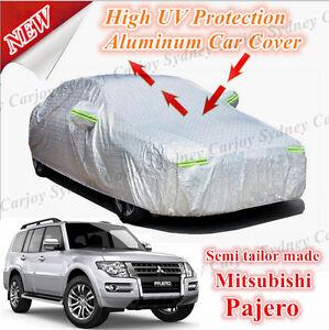 Premium Semi Customize Waterproof Aluminum Car Cover Large SUV Mitsubishi Pajero