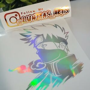Anime Car Window, Bumper Anime Decals Holographics | Variety Color