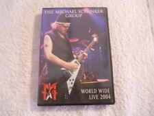 "The Michael Schenker Group ""World Wide Live 2004"" 2004 Metal Mind DVD New"