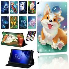 Animal Smart Stand Case Cover Fit Alcatel 1T 7 10 / 3T 8 10 / A3 10 + Stylus