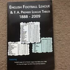English Football League and F.A.Premier League Tables 1888-2009 by Soccer Books