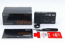 Excellent+++++ Ricoh GR1s Black Point & Shoot 35mm Film Camera Boxed from Japan