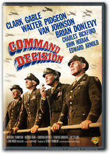 Command Decision DVD New Clark Gable Walter Pidgeon Van Johnson Brian Donlevy