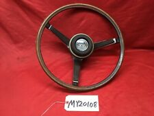 1967 MERCURY COUGAR XR7 XR-7 STEERING WHEEL AND HORN BUTTON / PAD C7WA-3D755A