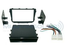 Radio Stereo Installation Mounting Dash Kit Combo SD/DD + Wire Harness HY39