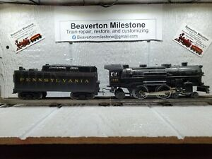 Customized LIONEL PENNSYLVANIA FLYER (CONVENTIONAL 4-4-2 STEAM LOCO. #1645)