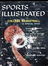 Sports Illustrated Magazine, December 8, 1958 - College Basketball Special Issue