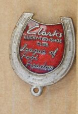 Vintage Clarks lucky two shoe club League of Foot Freedom  badge fattorini v2