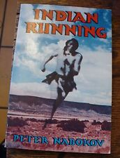 Indian Running Peter Nabokov 1981 Signed First Historic 6 Day Run Rare Look
