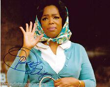 "Oprah Winfrey Colour 10""x 8"" Signed Photo - UACC RD223"