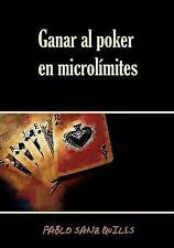 NEW Ganar al poker en microlímites (Spanish Edition) by Pablo Sanz Quiles