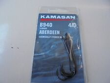 Kamasan aberdeen b940 sea fishing hooks chemically etched needle point 4/0