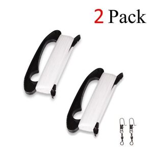 2 Packs Kite Handle with Line String - 300ft Durable Handle + String  - Black
