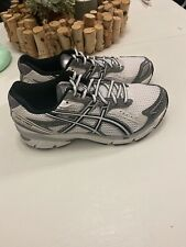 Asics Gel 1160 Running Shoes Mens Size 9 4E Width Silver/And White T0K0N (4E)