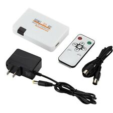 HDMI To RF Coaxial Modulator Converter Remote Control TV Signal Transmitter Box
