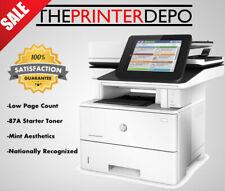 HP LaserJet Enterprise Flow MFP M527c Printer F2A81A Recertified + Toner ⚫️MINT⚫