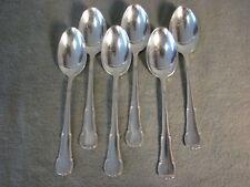 WMF 3200 Barock 6 Teelöffel 12,5 cm 90er Silberauflage