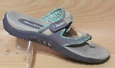 Skechers Womens Sandals Slip On Shoes Size 10.5