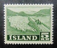 nystamps Iceland Stamp # 268 Mint OG NH $50 F26y792