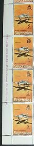 SEYCHELLES 1971 SG294 5c. AIRPORT COMPLETION - PIPER NAVAJO  -  MNH