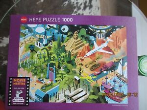 Heye 1000 Piece Jigsaw Puzzle Movie Masters: Steven Spielberg   (Alex Clerisse)