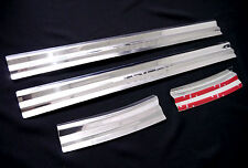 SCUFF PLATE 4 DOOR SILL STAINLESS STEEL FOR MITSUBISHI TRITON L200 MN ML 05-14