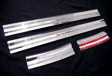 4 DOOR SILL STAINLESS STEEL SCUFF PLATE MITSUBISHI L200 TRITON MN ML UTE 05-10