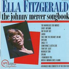 CD album ELLA FITZGERALD - THE JOHNNY MERCER SONGBOOK VERVE
