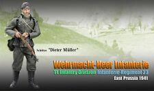 """Dragon 1/6 Scale 12"""" WWII German Prussia Infantry Division Dieter Muller 70856"""