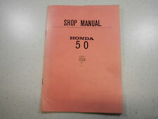 70-71 HONDA Z50AK2 OEM ORIGINAL SHOP SERVICE REPAIR MANUAL GUIDE Z50A Z50 A K2