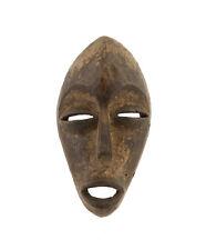 MASQUE AFRICAIN PASSEPORT DAN LIBERIA ART TRIBAL PREMIER PRIMITIF D' AFRIQUE 998