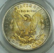 1884-CC Morgan Silver Dollar, ANACS MS-62, Nicely Toned