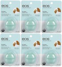 6 Pack EOS Smooth Sphere Evolution Lip Balm Sweet Mint Flavor .25oz