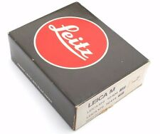 Vintage Leitz Leica Empty Black Presentation Case + Box for M6 camera / 0629