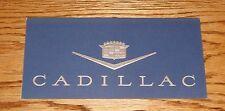 1963 Original Cadillac Invitation VIP Mailer Martin H Heine Inc 63