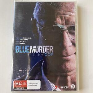 Blue Murder - Killer Cop - Richard Roxburgh (DVD) Australia Region 4- NEW SEALED