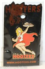HOOTERS GIRL BLONDE SERVER WAITRESS LAPEL PIN (STAFF WEST COAST) SUPER HERO/CAPE