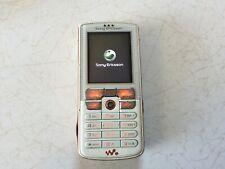 Sony Ericcson W800i -white orange (Unlocked) Cellular phone