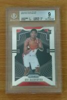 2019-20 Panini Prizm Rui Hachimura RC BGS 9 Washington Wizards #255