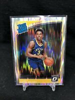 AARON HOLIDAY 2018-19 PANINI DONRUSS OPTIC SHOCK RATED ROOKIE CARD #176 D80