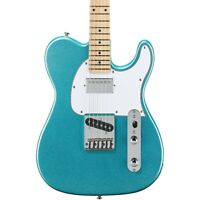 G&L Limited Edition Tribute ASAT Classic Bluesboy Electric Guitar Turquoise Mist