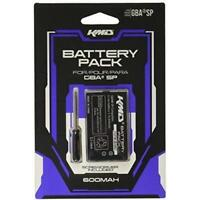 KMD Rechargeable Lithium ION With Screwdriver Battery For GBA SP Brand New 2Z