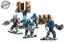 Mega Bloks Construx Halo UNSC Figures Covenant Fireteam Team Brute Lance Set