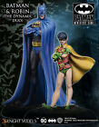 OUTLET KNIGHT MODELS DC BATMAN & ROBIN THE DYNAMIC DUO METAL NEW