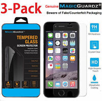 "MagicGuardz® Genuine Tempered Glass Screen Protector for 4.7"" Apple iPhone 6 6s"